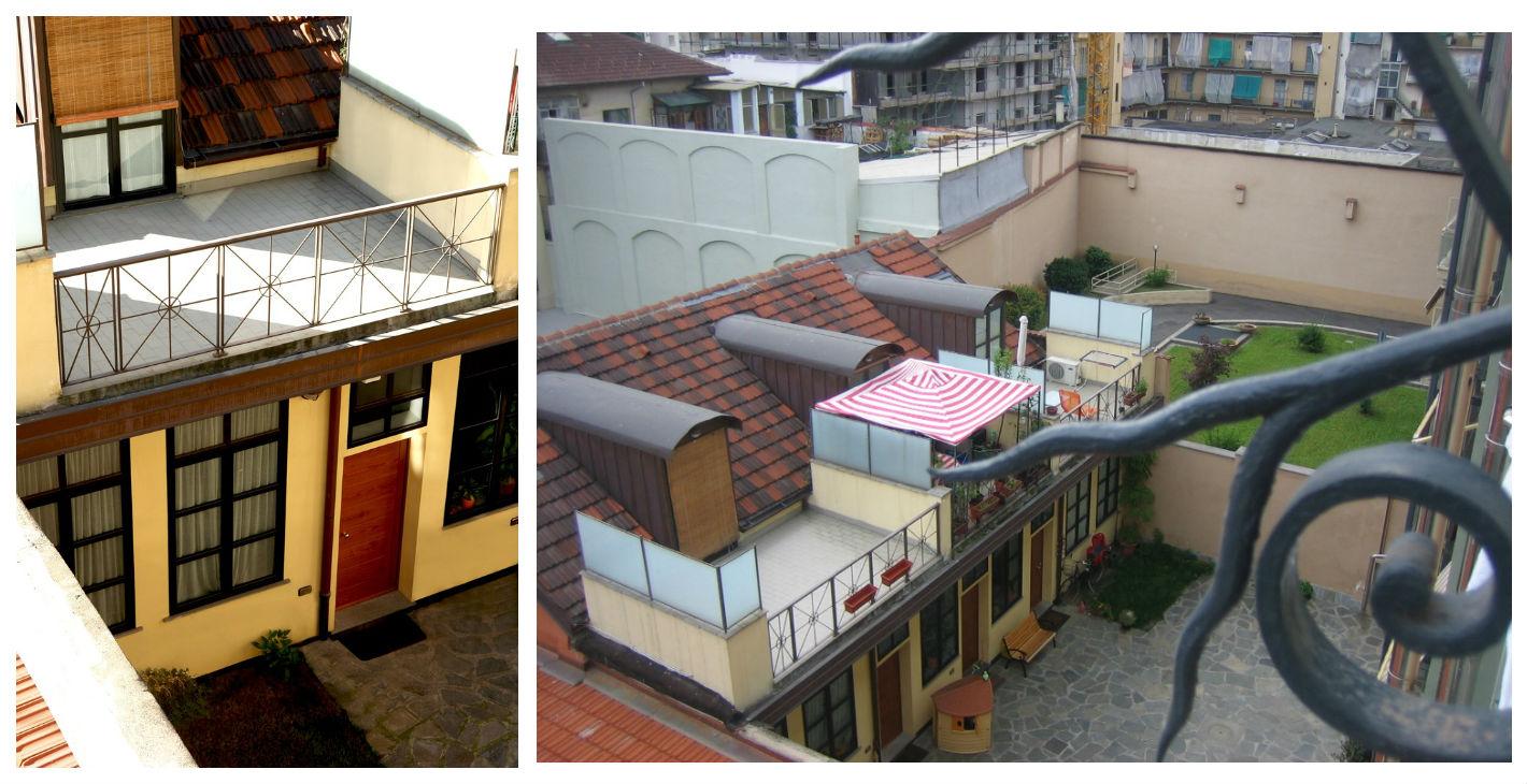Via bra 7 torino fine ristrutturazione anno 2002 for Piani di costruzione loft